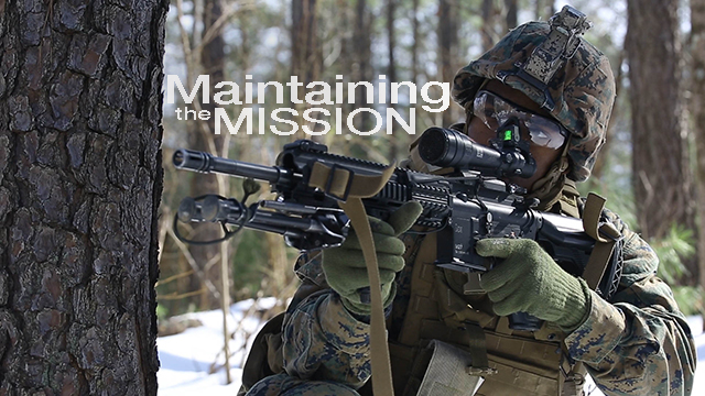 Any clime and place: 3/2 Marines conduct DFT in snow