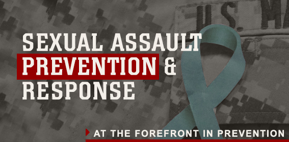 sexual assault prevention response banner